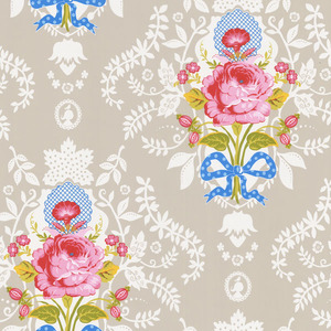 Beige Floral Cameo 313002