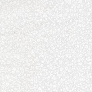 White Mini Floral Toss 313046