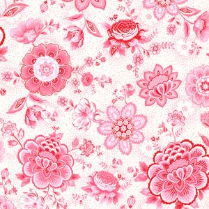 Kali Pink Folklore Chintz 341010