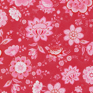 Kali Red Folklore Chintz 341011