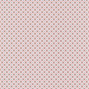 Eebe Pink Floral Geometric 341020