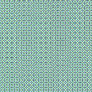 Eebe Green Floral Geometric 341026