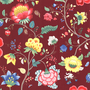 Epona Burgundy Floral Fantasy 341033