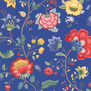Epona Dark Blue Floral Fantasy 341034