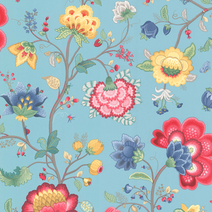 Epona Light Blue Floral Fantasy 341035