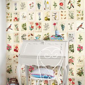 Botanical Paper Mural 341086