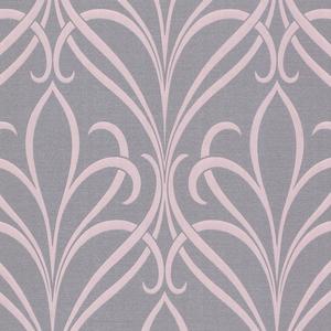 Lalique Purple Nouveau Damask 482-DL31065