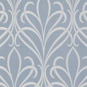 Lalique Blue Nouveau Damask 482-DL31067
