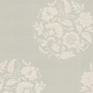 Velde Taupe Floral Motif 482-DL31072