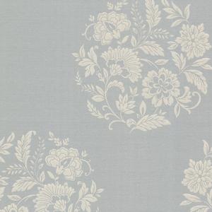 Velde Grey Floral Motif 482-DL31074