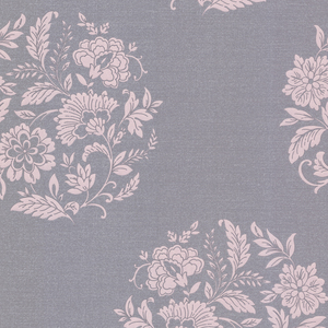 Velde Purple Floral Motif 482-DL31075
