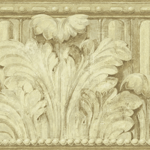 Herculaneum Gold Acanthus Leaves OM90355B