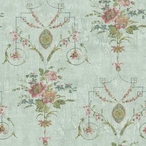 Naples Sage Floral Fresco OM90902