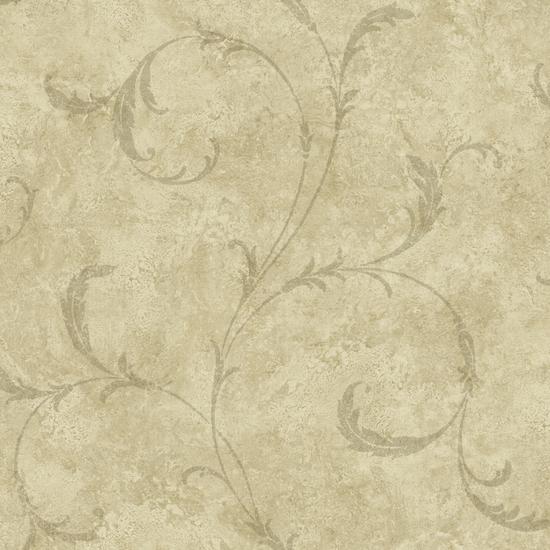 Vesuvius Light Brown Marble Scroll OM91606