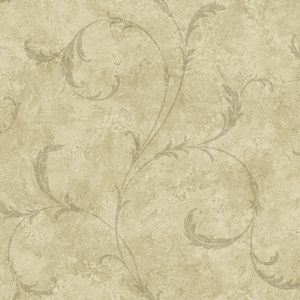 Vesuvius Light Brown Marble Scroll OM91606