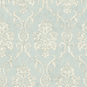 Domenico Light Blue Damask OM91901