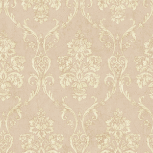 Domenico Peach Damask OM91905