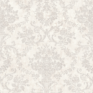 Fontana Light Grey Floral Damask OM92102