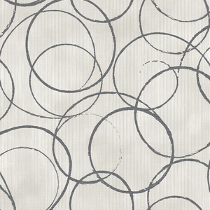 Ripple Black Circle Geometric 2662-001947
