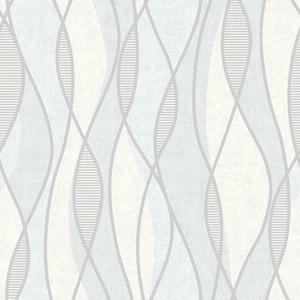 Gyro Light Blue Swirl Geometric 2662-001968