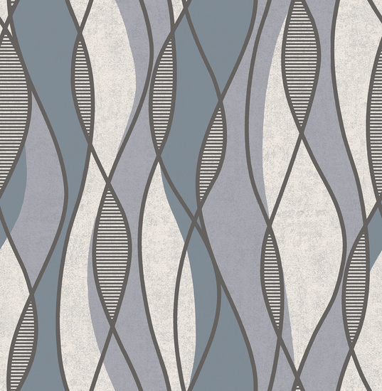 Gyro Charcoal Swirl Geometric 2662-001971