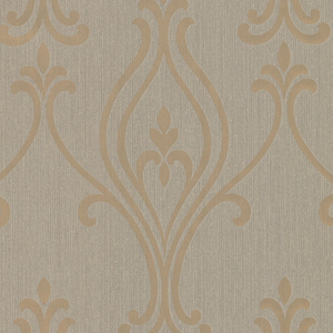 Luca Gold Damask 2603-20920