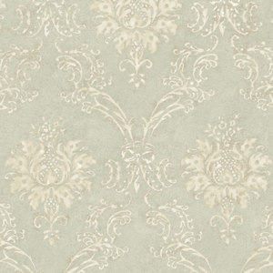 Neutrals Devon Damask Wallpaper QE14021