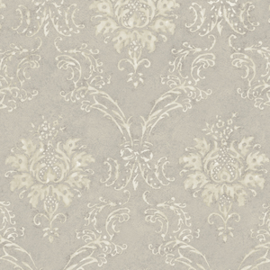 Cream Devon Damask Wallpaper QE14022