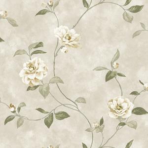 Neutrals Rosaline Floral Wallpaper QE14031