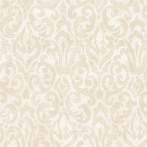 White Emerson Wallpaper QE14004