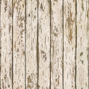 Genley White Faux Weathered Wood PUR13282