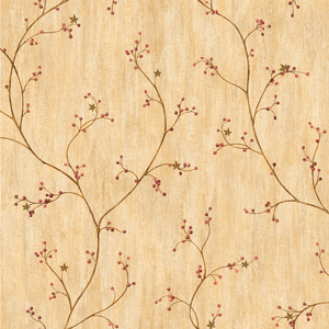 Felicia Wheat Star Berry Vine PUR44033