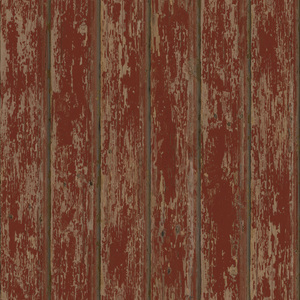 Brax Red Faux Weathered Clapboards PUR66103