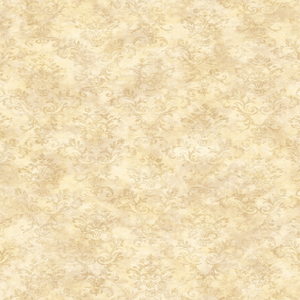 Evie Yellow Country Stencil Damask PUR66358
