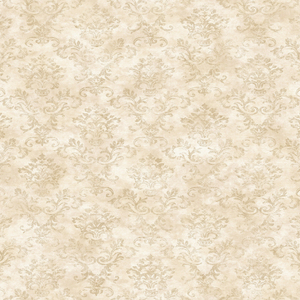 Evie Taupe Country Stencil Damask PUR66359