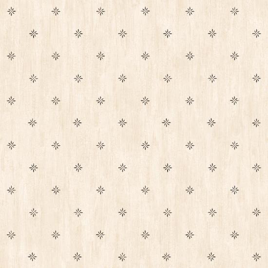 Frannie Cream Stencil Starburst Toss PUR66381