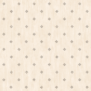 Frannie Cream Stencil Starburst Toss PUR66381