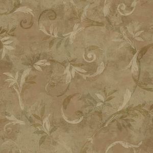 Copper Marlow Wallpaper QE14042