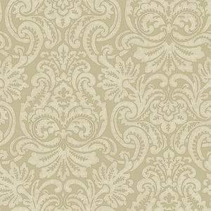 Neutrals Dante Damask Wallpaper QE14081