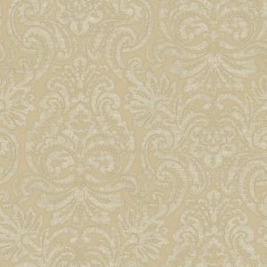 Cream Dante Damask Wallpaper QE14083