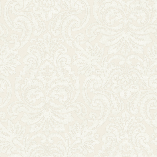 Sand Dante Damask Wallpaper QE14086