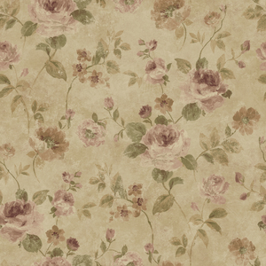 Brown Larkin Wallpaper QE14092
