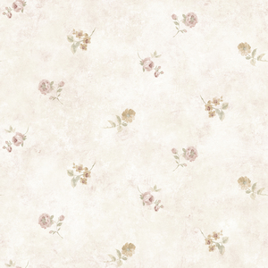 White Leanne Wallpaper QE14104