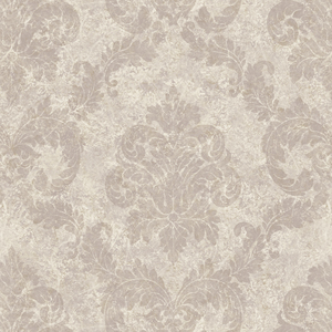 Red Dreamy Damask Wallpaper QE191614