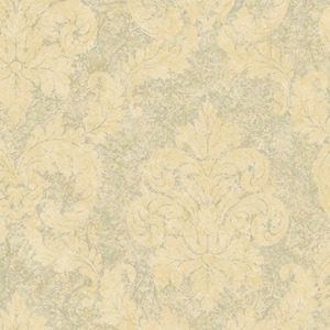 Grey Dreamy Damask Wallpaper QE19166