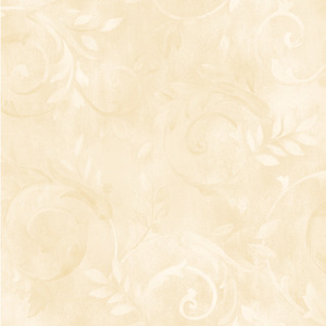 White Contemporary Acanthus Wallpaper QE19414