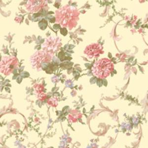 Yellow Villa Tapestry Wallpaper QE58393