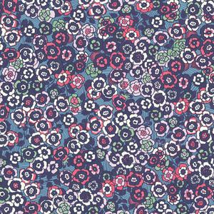 Lantana Ocean Bohemian Floral Wallpaper 341502