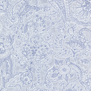 Barcelona Ocean Paisley Wallpaper 341525