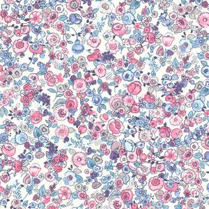 Pradera Violet Vintage Floral Wallpaper 341532